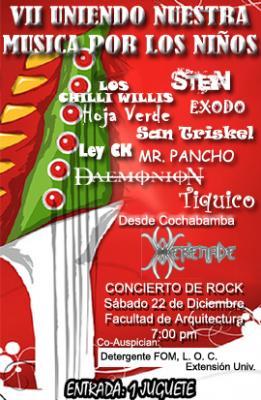"""Festival """"UNIENDO NUESTRA MUSICA POR LOS NIÑOS"""""""