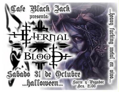 Halloween con ETERNAL BLOOD