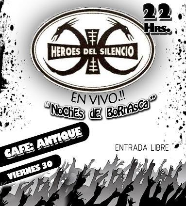 tributo a HEROES DEL SILENCO