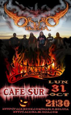 DIABLO  Oruro 31 de Octubre