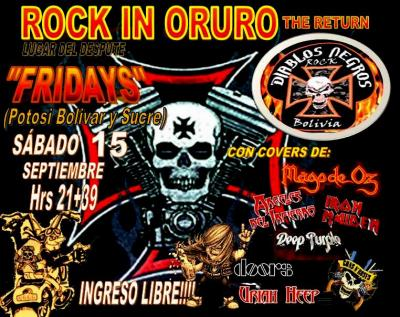 ROCK IN ORURO
