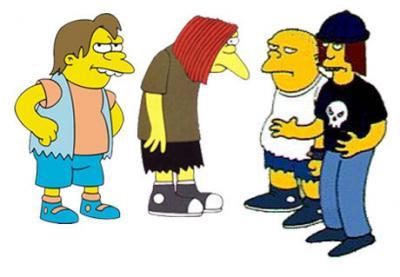 Los Simpsons y la Unión Juvenil Cruceñista