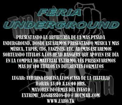 FERIA UNDERGROUND