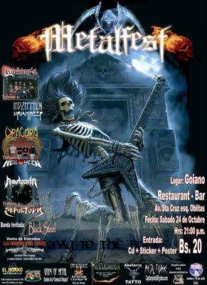 Cbba  metal fest