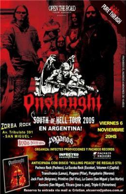 Onslaught  En Argentina  666% PURE THRASH