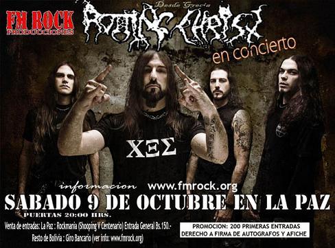 Rotting Christ  sabado 9 de octubre  La Paz