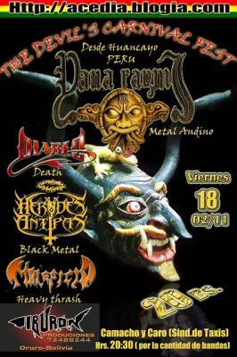 The Devil's Carnival Fest  En la ciudad del diablo ORURO