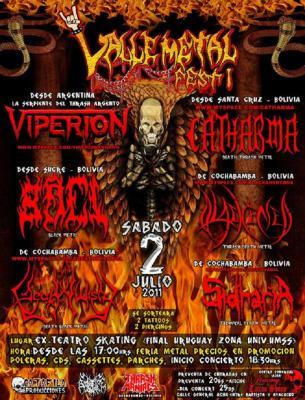 valle metal fest     Cbba