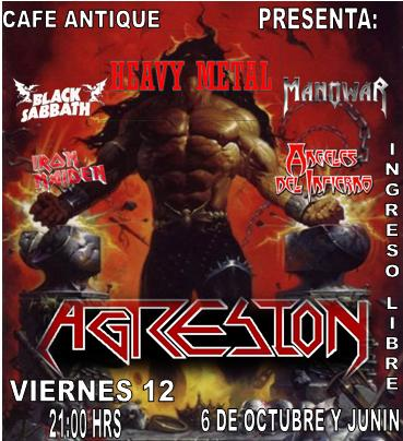 !!!!CONCIERTO DE METAL en cafe antique!!!!