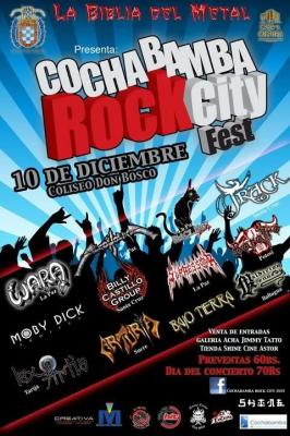ROCK CITY FEST - Cbba-10 de Diciembre